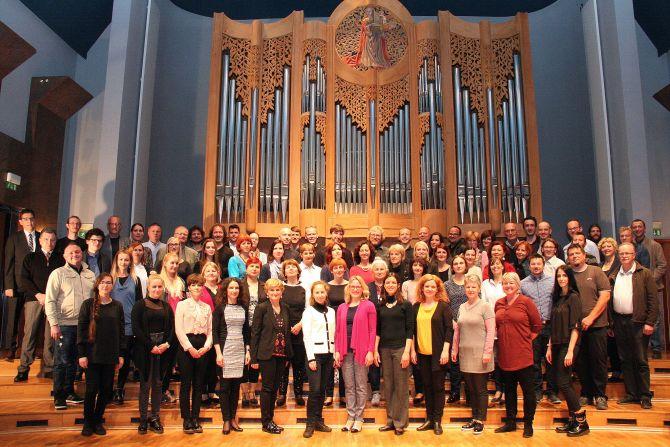 Učiteljski zbor Glasbene šole Fran Korun Koželjski Velenje - šolsko leto 2018/2019
