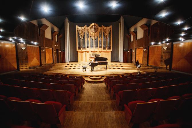 Our beautiful Organ hall