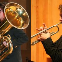 Recital -  Gašper Poprijan, tuba in Drago Adrian Poprijan, trobenta