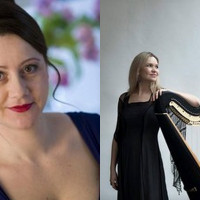 Bernarda Bobro - sopran, Tina Žerdin - harfa, koncert