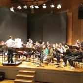 Nagovor gostitelja orkestru
