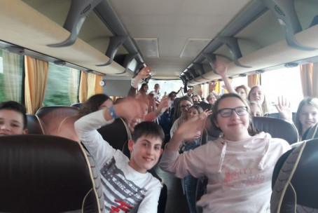 Mladinski pevski zbor Glasbene šole Velenje na zborovskem tekmovanju
