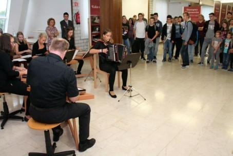 Otvoritev razstave ob 200-letnici ustanovitve prve javne glasbene šole na Slovenskem