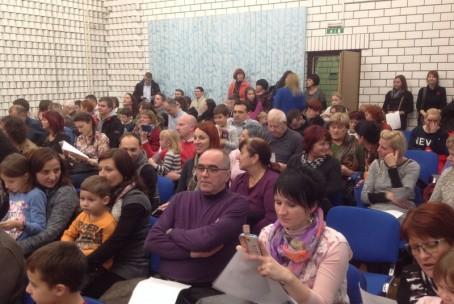Javni nastop pianistov 1. razreda Glasbene šole Velenje, 17. 12. 2015