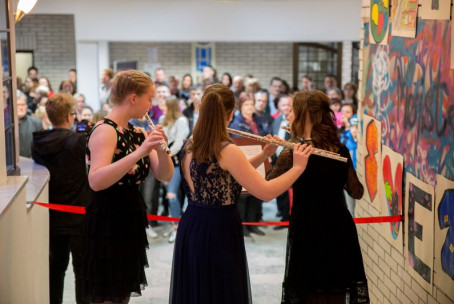 Po ulicah sveta, večer dijakov 2. letnika Umetniške gimnazije Velenje