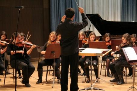 Koncert orkestrov glasbenih šol iz Raven na Koroškem in Velenja, 12. 2. 2015