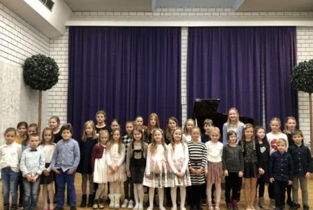 Nastop učencev 1. razreda klavirja Glasbene šole Velenje