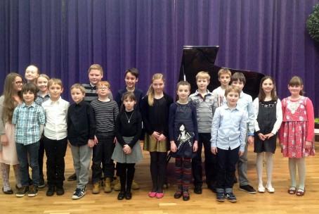 Javni nastop pianistov 3. razreda Glasbene šole Velenje