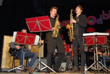 Koncert Big banda Glasbene šole Fran Korun Koželjski Velenje v Šmartnem ob Paki