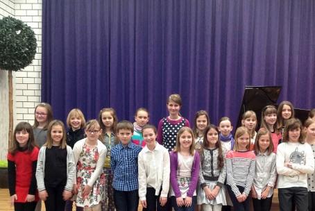 Nastop učencev 3. razreda klavirja Glasbene šole Velenje, 23. marec 2015