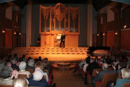 Gunther Rost (orgle) - abonma Klasika, 4. koncert