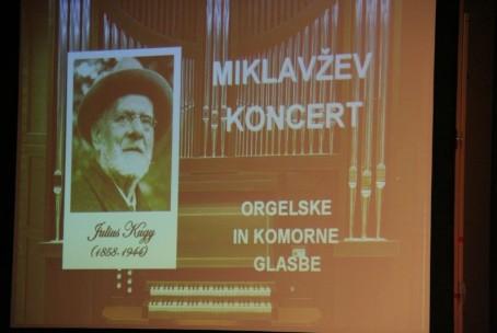 Miklavžev koncert orgelske in komorne glasbe, 4. december 2014