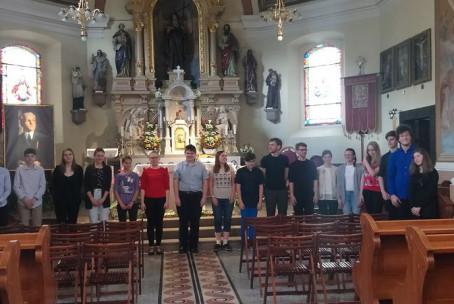 Naši dijaki na 16. reviji mladih slovenskih orglavcev (Brezovica pri Ljubljani)