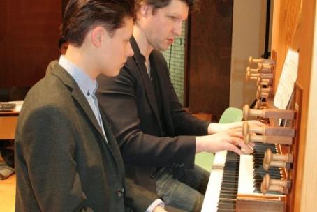 15. mednarodna orgelska šola, mentor Gunther Rost (Gradec)