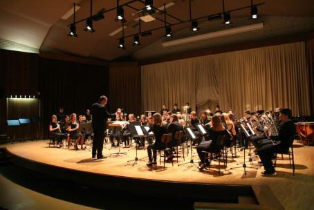 Koncert Pihalnega orkestra Glasbene šole Velenje s solisti