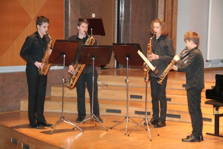 Koncert pihalcev Glasbene šole Velenje, 20. november 2014