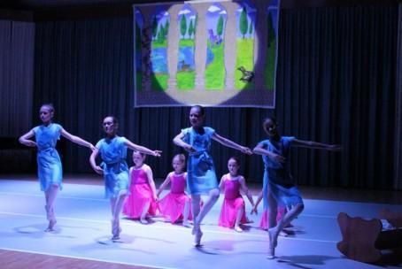 Baletna predstava Trnuljčica, nastop učencev oddelka za balet GŠ Velenje, 27. 5. 2015