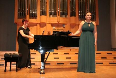 Alja Koren - mezzosopran, preddiplomski koncert