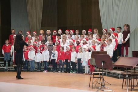 Božično-novoletni koncert Glasbene šole Velenje, 21. 12. 2015