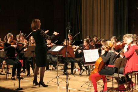 Božično-novoletni koncert Glasbene šole Velenje, 22. december 2014