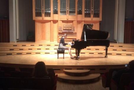 Brina Kozlevčar - klavir, koncert iz cikla Pianissimo