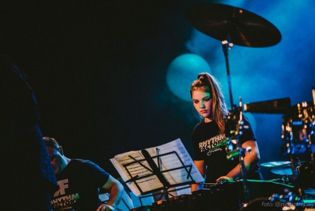 Tolkalna skupina Rhythm Factory na 13. Bumfestu, Žalec (foto: Matic Trepelj)