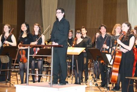 Koncert komornega in simfoničnega orkestra Univerze v Durhamu (Velika Britanija)