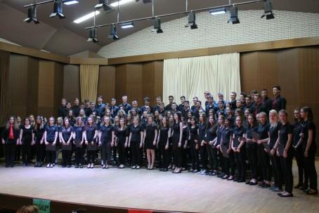 Koncert pevskih zborov - MeMPZ Šolskega centra Velenje in MeMPZ Gimnazije Esslingen (Nemčija)