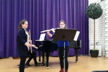 Seminar za flavto - mentorica Eva-Nina Kozmus
