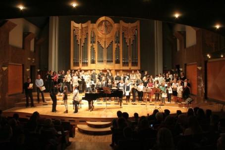 Zaključni koncert fOKS - 4. revije pihalcev Glasbene šole Velenje