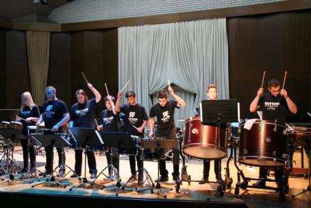Fascinantni bobni, večer tolkalcev Glasbene šole Velenje