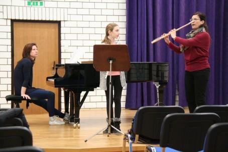 Seminar za flavto - mentorica Nataša Paklar