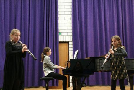 5. revija fOKS, nastop komornih zasedb s pihali Glasbene šole Velenje