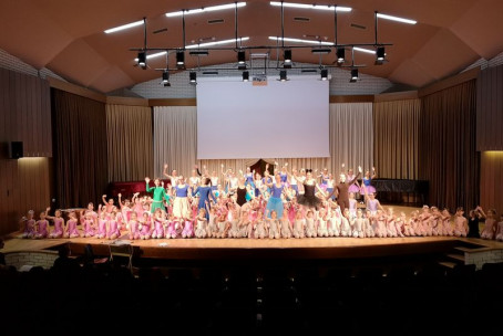 Palčica, baletna predstava - generalka