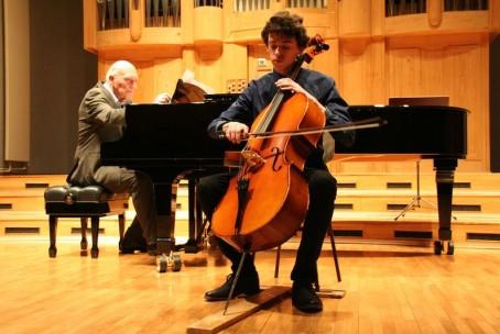 Koncert godalcev Glasbene šole Velenje, nastop dijakov