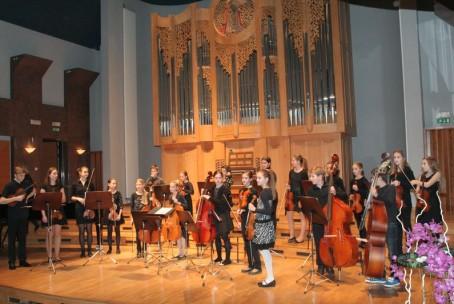 Koncert godalcev Glasbene šole Velenje, 21. 1. 2016