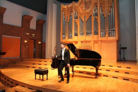 Koncert študentov iz Gradca (Univerza za glasbo upodabljajočo umetnost)