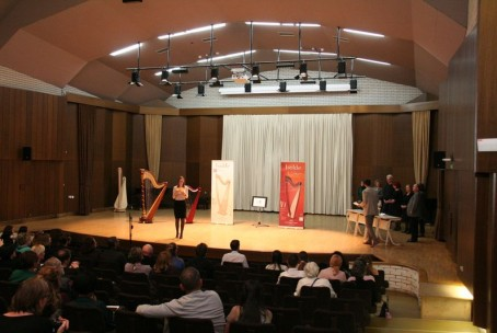 5th international harp competition DHS - Award ceremony for category C