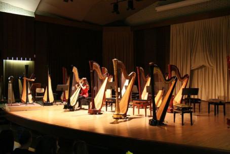 (Po)letni koncert harfistov Glasbene šole Velenje, gosti: Orkester harf Glasbene šole Celje
