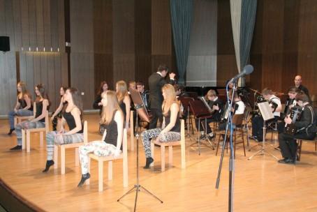 Koncert harmonikarskih orkestrov glasbenih šol Laško - Radeče, Slovenj Gradec in Velenje