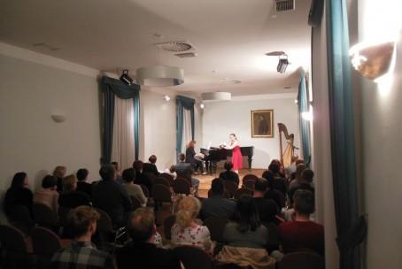 Harmonije prijateljstva, koncert učencev in dijakov Glasbene šole Velenje v rojstni hiši Huga Wolfa, Slovenj Gradec