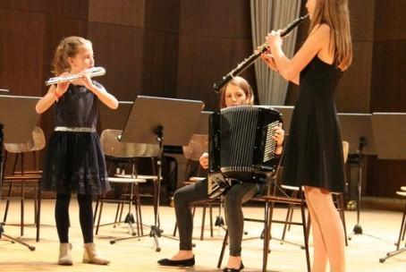 Božično-novoletni koncert harmonikarjev Glasbene šole Velenje