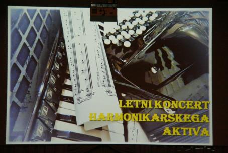 Letni koncert harmonikarjev Glasbene šole Velenje