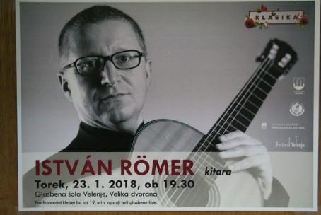 István Römer, abonma Klasika, predkoncertni pogovor in koncert
