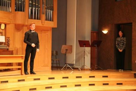 V ivju srebrnem, večer orgelske in zborovske sakralne glasbe