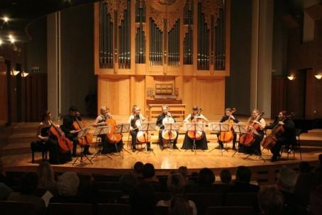 Koncert dijakov godalnega oddelka Konservatorija za glasbo in balet v Ljubljani