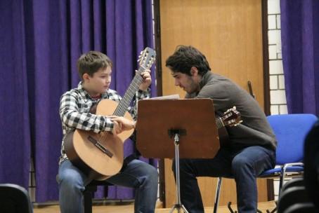 Seminar za kitaro, mentor Mak Grgić