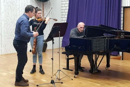 Seminar za violino - mentor Miran Kolbl (10. - 12. 1. 2020)