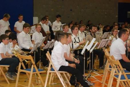 Pihalni orkestri Glasbene šole Velenje v Šoštanju, 15. 5. 2015