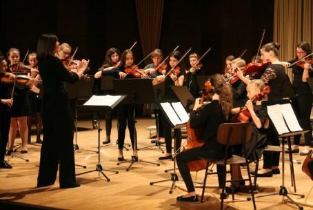 Koncert pevskih zborov in mlajšega godalnega orkestra Glasbene šole Velenje